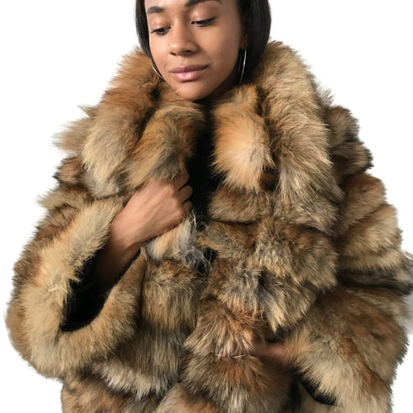 Fur Coat red fox fur